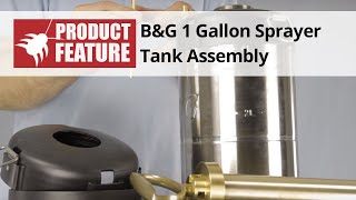 B&G 1 Gallon Sprayer Tank Assembly
