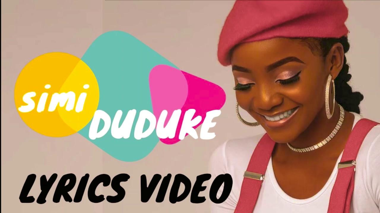 Simi - Duduke Lyrics | blogger.com