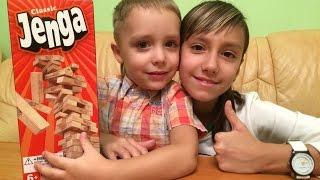 Настольная игра для всей семьи JENGA | Board game for the whole family | Маркушка(, 2016-01-03T07:52:34.000Z)