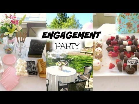 Our Engagement Party // Project Bride