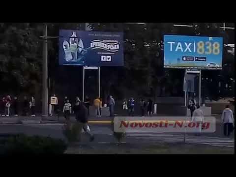 Новости-N: Очередь на маршрутку 50 Николаев, 21.09.20