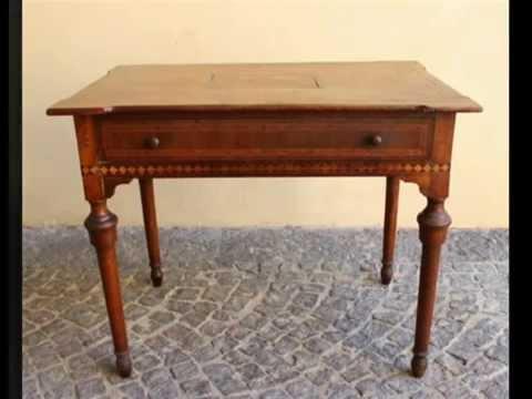 tavolo scrittoio antico italiano tavoli piccoli tavolini