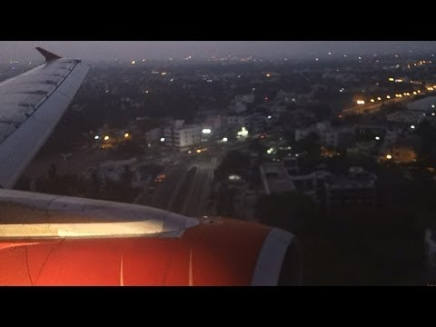 Early morning landing in Chennai on an Air India A321. thumbnail