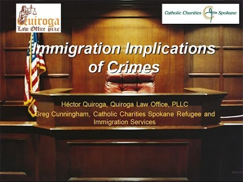 Immigration Implications of Crimes by Non US Citizens