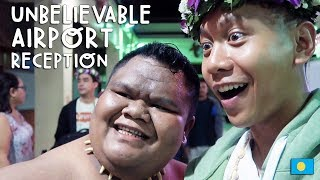 Unbelievable Airport Reception (PALAU) | Vlog #226