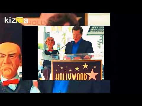 9/21/17 JEFF DUNHAM GETS A HOLLYWOOD WALK OF FAME STAR ! JAY LENO & HOWIE MANDELL SHOW UP TOO