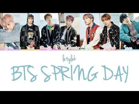 BTS Spring Day (봄날) Lyrics [Colour Coded|HAN/ROM/ENG]