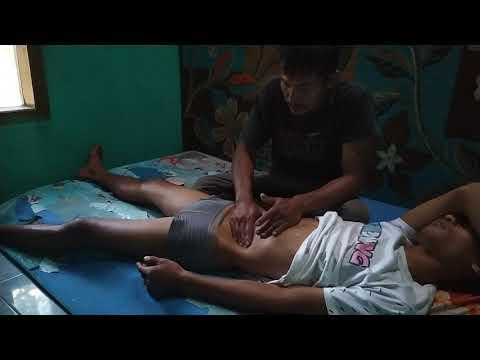 Comment masser les jambes et le ventre raides // Massage traditionnel
