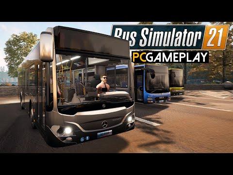 Bus Simulator 21 Gameplay (PC)