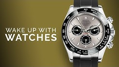 Rolex Daytona White Gold Oysterflex: Omega Seamaster Chronograph: Luxury Watches to Buy; FP Journe