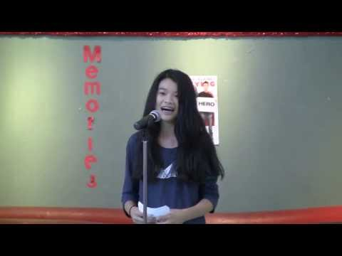 2015 Middle School Student Council Candidate Speeches