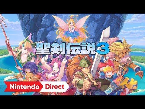 聖剣伝説3 TRIALS of MANA [Nintendo Direct 2019.9.5]