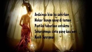 Iklim-Kasih Syurgawi~lirik~