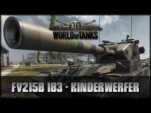 World of Tanks - Live: FV215b 183 - Kinderwerfer [ deutsch ? gameplay ] thumbnail