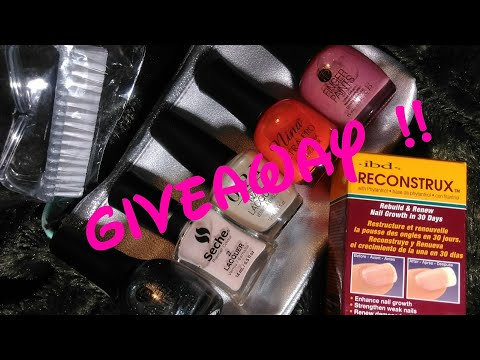 """Giveaway """"All about nails"""" (OPEN) 