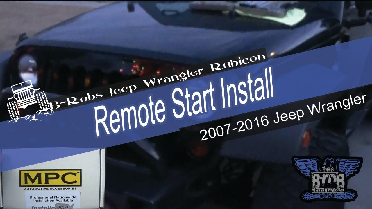 Jeep Wrangler Unlimited Remote Start Install