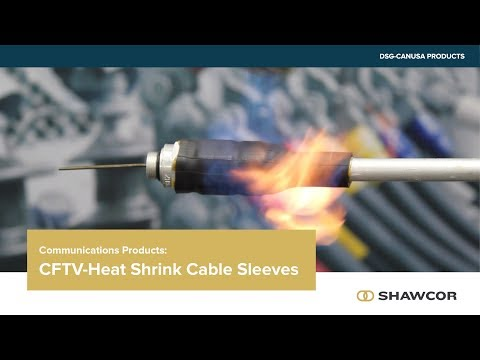 CFTV Heat Shrink Cable Sleeves