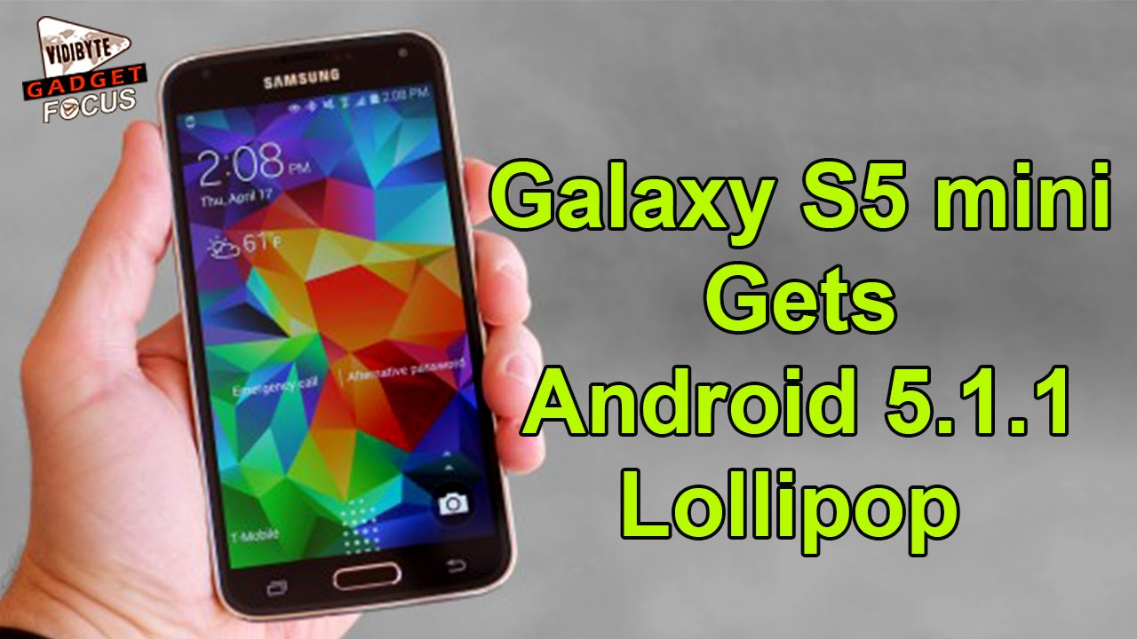 samsung galaxy s5 mini gets android 5 1 1 lollipop in usa youtube. Black Bedroom Furniture Sets. Home Design Ideas