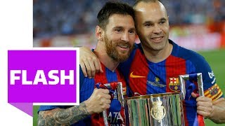 Messi schießt Barca zum Pokalsieg - Barcelona-Abschied von Trainer Luis Enrique bei Copa del Rey