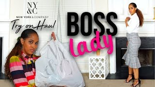 BOSS LADY Try-On Haul | New York & Co