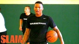 Jahii Carson 2014 NBA Draft Workout - Crazy Athlete - 2014 NBA Draft