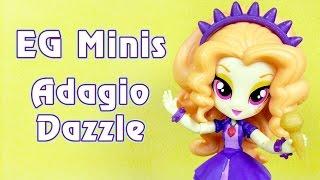 Адажио Даззл - мини-девушка Эквестрии (Equestria Girls Minis)(Обзор мини-куклы Адажио Даззл (Adagio Dazzle) из полнометражного мультфильма