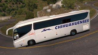 Bus Irizar i8 4X2   CHIHUAHUA   Ruta por la Sierra   De Alto de Navarro a Parral thumbnail