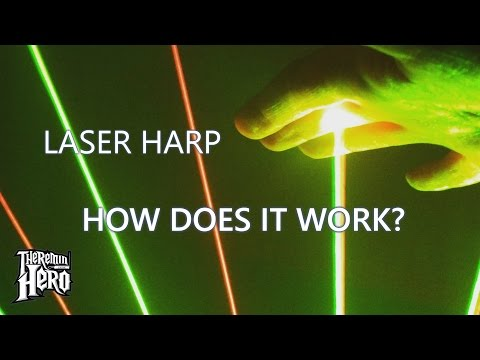 Laser Harp : How does it work?