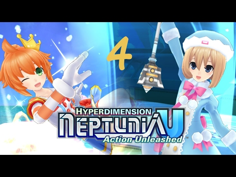 Hyperdimension Neptunia U : Action Unleashed [Enemy Limit Trial] - The Happiest Party Ever |