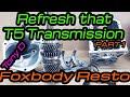 Refreshing Borg Warner T5 Mustang GT Manual Transmission Part 1