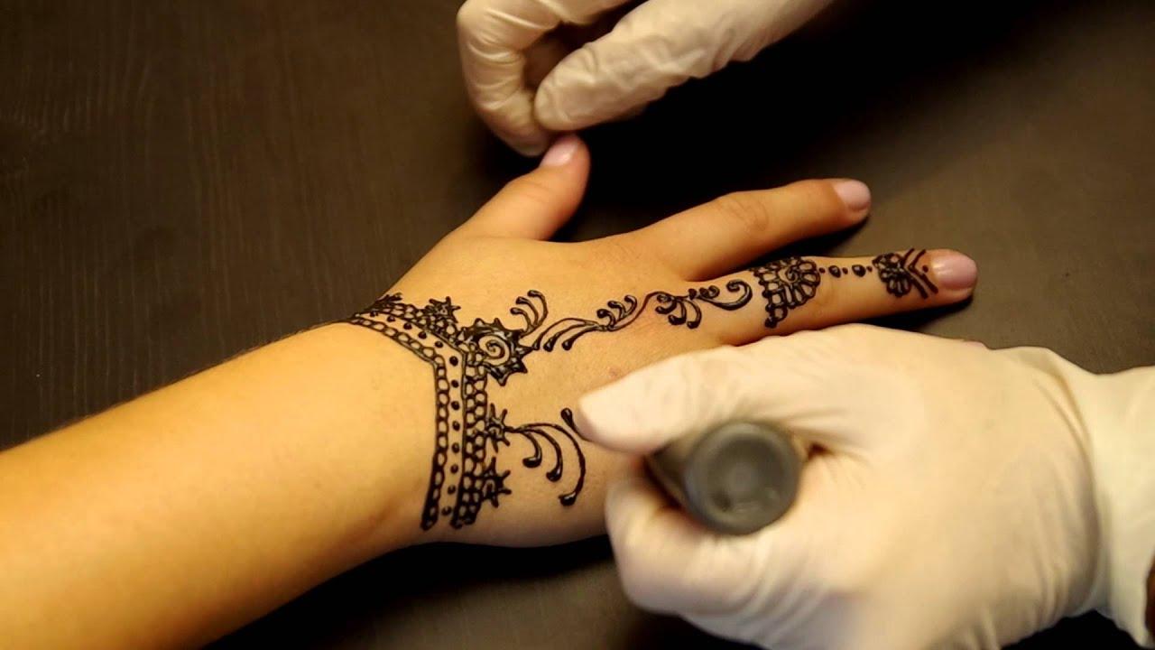 рисунок хной татуировка хной временную татуировку хной Henna Tattooмастер класс дома