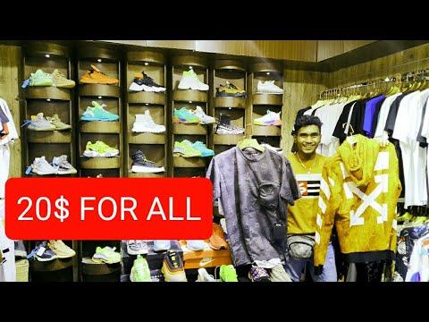 DUBAI'S UNKNOWN FAKE MARKET!! (COUNTERFIET MARKET) (GUCCI,LV, NIKE ALL FOR 20$) CRAZY CHEAP!!