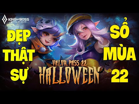 Liên quân Sổ sứ mệnh 22 | Kẻ hết thời Alice Halloween ma mị và cute, Keera lễ hội ma Halloween TNG