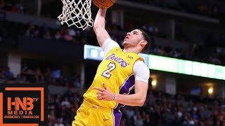 Los Angeles Lakers vs Denver Nuggets 1st Half Highlights / March 9 / 2017-18 NBA Season