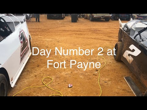 Day Number 2 At Fort Payne Motor Speedway. Qualifying And Heat Races.