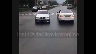 Свадебный беспредел во Владикавказе: дрифт на BMW со стрельбой попал на видео, 11/06/2017