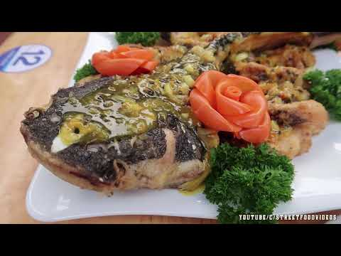 Vietnam Food - Red Tail Catfish Amazon With Passion Fruit Sauce Seafood Vietnam