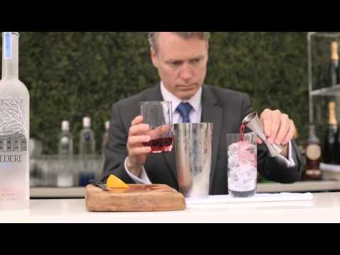 How to Make A Belvedere Vodka Cocktail