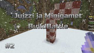 Juizzi ja minigamet: Build Battle #2 - Ei toi ole karkki..