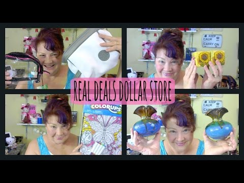 Real Deals Dollar Store Haul End Of August 2015