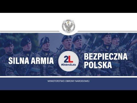 2 lata rządu – Ministerstwo Obrony Narodowej