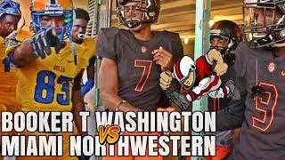 Booker T Washington Tornadoes vs Miami Northwestern Bulls  | High School football highlights