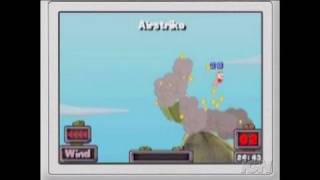 Worms: Open Warfare 2 Nintendo DS Clip - Gameplay