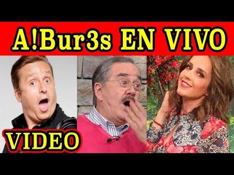 SE A!bUr3An CONDUCTORES de Ventaneando ¡¡EN VIVO!!