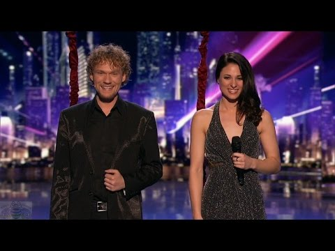 America's Got Talent 2016 The Clairvoyants Psychic Couple Full Judge Cuts Clip S11E11