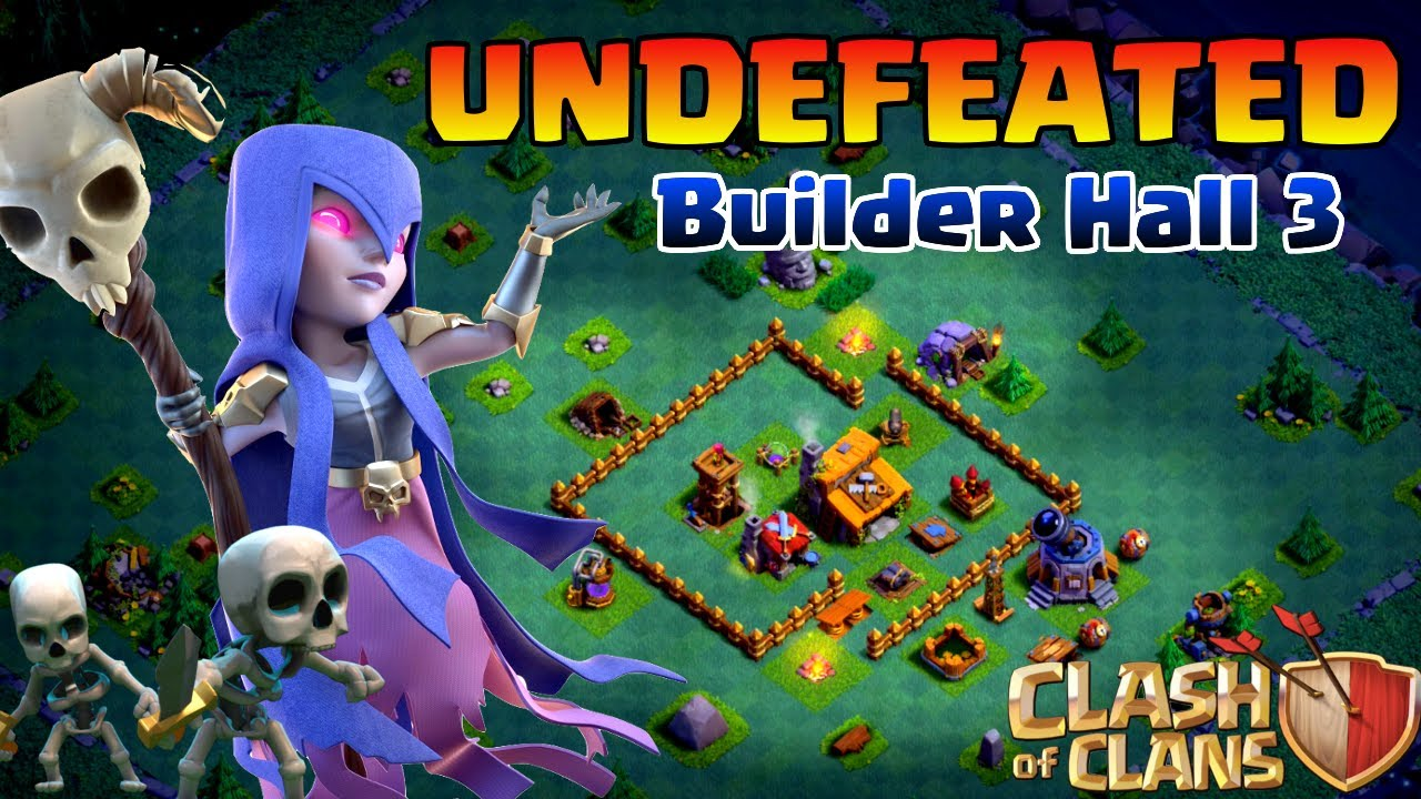 494f5db537 CoC New Update | UNDEFEATED BH/TH3 BASE (BUILDER HALL 3) - BEST BH3 BASE -  BUILDER BASE w/REPLAYS