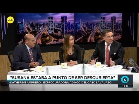 """Exprocuradora Ampuero: """"Susana estaba a punto de ser descubierta""""   QTLR 14/05/2019"""