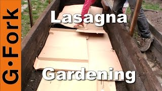 Lasagna Gardening How To - GardenFork.TV