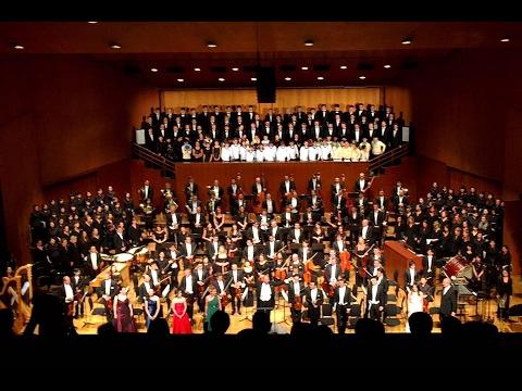 Mahler 8. Symphonie, II. Teil, dirigiert von Jimmy Chiang (Kapellmeister d. Wiener Sängerknaben)