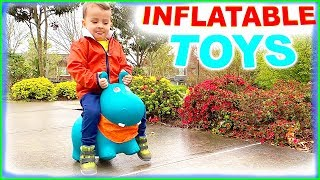 Ride On NEW Inflatable Toy - Bouncy Animals Fun Playtime